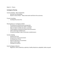 PLG 500 Lecture Notes - Lecture 11: New Urbanism, Community Building, Swot Analysis