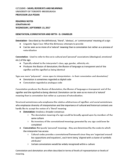 CCT210H5 Chapter Notes - Chapter 3: University Of Toronto Mississauga, Connotation, Polysemy