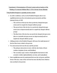 CHEM 2360 Study Guide - Final Guide: Data Analysis, Airco Dh.2, Cuvette
