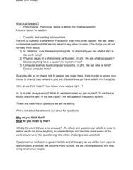 PHIL101 Lecture Notes - Lecture 1: Ad Hominem