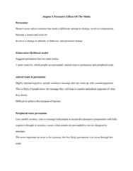JMC 1100 Chapter Notes - Chapter 8: Social Proof, Reproductive Health, Interpersonal Communication