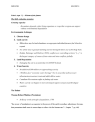FARE 2700 Lecture Notes - Lecture 1: Median Income, Natural Capital, Anthropocentrism