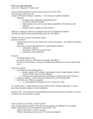 MGSC05H3 Study Guide - Midterm Guide: Consent Decree, Apple Inc., Operating System