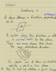 MATH 105 Lecture Notes - Lecture 2: Unit Circle