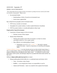 GEOG 1020 Lecture Notes - Lecture 3: Bovine Spongiform Encephalopathy, The Columbian Exchange, Enviropig