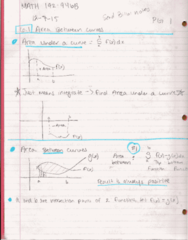 MATH 192 Lecture 2: Math 192 Notes 12.7.15