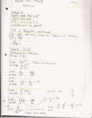 MATH 192 Lecture 12: Math 192 Notes 10.21.15