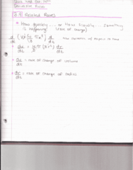 MATH 192 Lecture 16: Math 192 Notes 10.05.15
