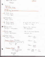 MATH 192 Lecture 18: Math 192 Notes 9.28.15