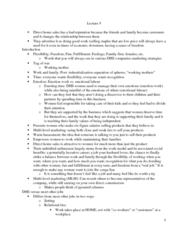 SOC446H5 Lecture Notes - Lecture 8: Working Mother, Unbridled, Emotional Labor