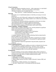 PHIL 100 Lecture Notes - Lecture 15: Fat Client, Global Nomad, G Suite