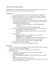 NURS 310 Study Guide - Final Guide: Prostaglandin, Factor X, Ticlopidine