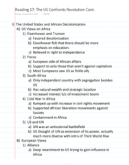 HISTORY 2500 Chapter Notes - Chapter 11: Che Guevara, First Direct, General Agreement On Tariffs And Trade