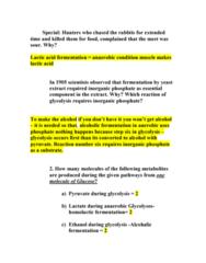 59-362 Study Guide - Quiz Guide: Hexokinase, Glyceraldehyde 3-Phosphate Dehydrogenase, Aldehyde