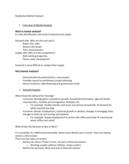 REAL 1820 Lecture Notes - Lecture 5: Cbre Group, Royal Lepage
