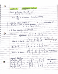 MATH 211 Lecture 3: Homogeneous Systems