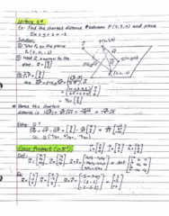 MATH 211 Lecture 19: Plane problems + Cross Product