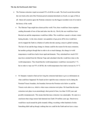GEOG 1200 Lecture Notes - Lecture 4: Siberian Traps, Volcanic Winter, Arctic Methane Emissions