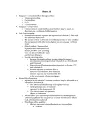 ACCT40610 Lecture Notes - Lecture 10: Form 1040, Sole Proprietorship, Net Income