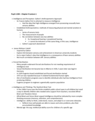 PSYC 1200 Lecture Notes - Lecture 1: James Mckeen Cattell, Sexual Sterilization Act Of Alberta, Anthropometry