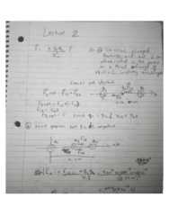 PHY 1020U Lecture 2: physics lecture 2