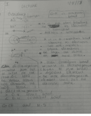 CHM 1046 Lecture 1: Lewis structure