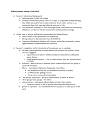 Sociology 2270A/B Lecture Notes - Lecture 6: William Graham Sumner, Ethnocentrism