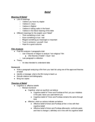 RLG101H5 Lecture Notes - Lecture 1: Richard Gombrich, Stapler, List Of Characters In The Lion King