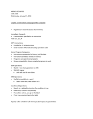 COIS 2300H Lecture Notes - Lecture 2: Bitwise Operation, Basic Block