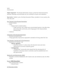 HIST 0865 Lecture Notes - Lecture 5: Nicholas Ii Of Russia, Saint Petersburg, Mensheviks
