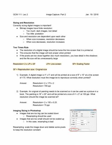 gcm-111-lecture-2-image-capture-part-2