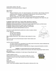 EES 1080 Lecture Notes - Lecture 12: Soil Texture, Intercropping, Silt