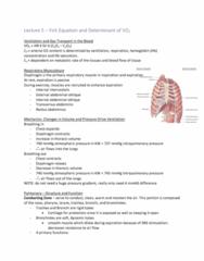 KIN 105 Lecture Notes - Lecture 5: Partial Pressure, Pulse Oximetry, Hematocrit