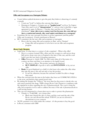 LAWG 100D1 Lecture Notes - Lecture 12: Standard Form Contract, State Agency For National Security, Oxymoron
