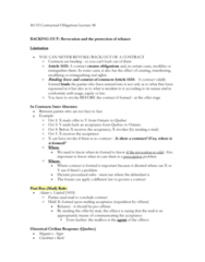 LAWG 100D1 Lecture Notes - Lecture 10: Reception Theory, Contract