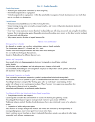 SOCIOL 1A06 Study Guide - Final Guide: Male Unemployment, Culture Jamming, Glass Ceiling