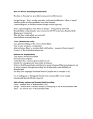 ANTH 203 Lecture Notes - Lecture 16: Mousterian, Brain Size, Prognathism