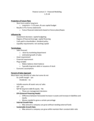 FIN 357 Lecture Notes - Lecture 3: Asset Turnover, Capital Budgeting, Dividend Policy