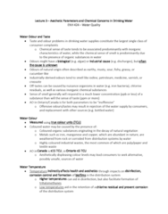 ENH 424 Lecture Notes - Lecture 3: Arsenic Poisoning, Urban Runoff, Toothpaste