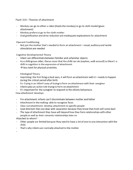 SOCIOL 3U03 Lecture Notes - Lecture 6: Operant Conditioning, Psych
