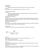STAT 2507 Lecture 4: STATS 2507 Week 4(a)