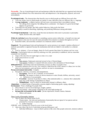 PSYC 2740 Lecture Notes - Lecture 1: Psychoanalytic Theory, Psychophysiology, Nomothetic