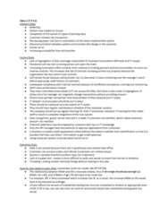 RSM427H1 Lecture Notes - Lecture 2: Audit Risk, Control Risks, Financial Statement