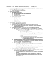 SOCIOL 1C03 Lecture Notes - Lecture 3: Lgbt Parenting, Indian Register, Unemployment Benefits
