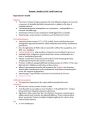 Women's Studies 1020E Study Guide - Final Guide: Lgbt, Supreme Court Act, Public Sphere