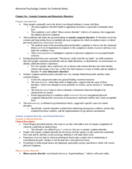 PSYC 3140 Chapter Notes - Chapter 6: Psychogenic Non-Epileptic Seizures, Dsm-5, Head Injury