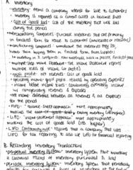 ACCT 201H Lecture 6: ACC 201 lec 6