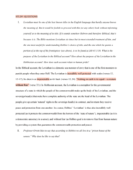 POL200Y1 Chapter Notes - Chapter Study Questions: Thomas Hobbes, Sea Monster, Autocracy
