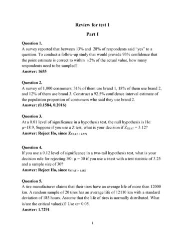 QMS 202 Quiz Test 1 Review
