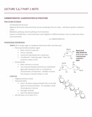 NUTR 3210 Lecture Notes - Lecture 5: Anomer, Stereospecificity, Stereoisomerism